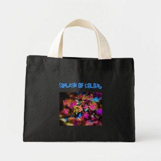 子供へ色のしぶき ミニトートバッグ
