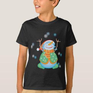 Snowman T-Shirt for kids - Midnight