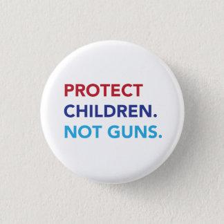 子供を保護して下さい。 ない銃 缶バッジ