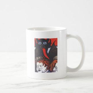 子供を罰するKrampus コーヒーマグカップ