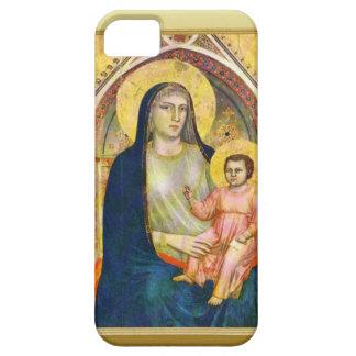 子供イエス・キリストを持つメリー iPhone SE/5/5s ケース