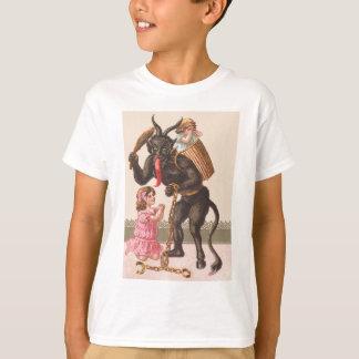 子供スイッチ鎖を罰するKrampus Tシャツ