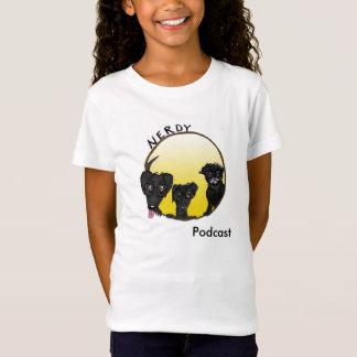 子供フレンドリーなポッドキャストのティー Tシャツ