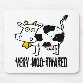 子供牛Tシャツおよびギフト マウスパッド