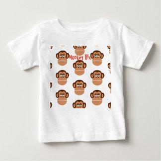 """子供""""モンキービジネス""""おもしろいのTシャツ ベビーTシャツ"""