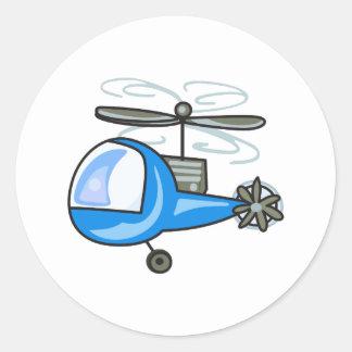 子供' Sのヘリコプター ラウンドシール