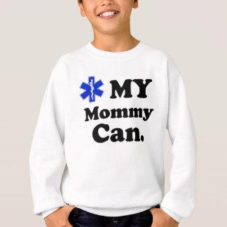 子供EMTの私のお母さんはできます スウェットシャツ