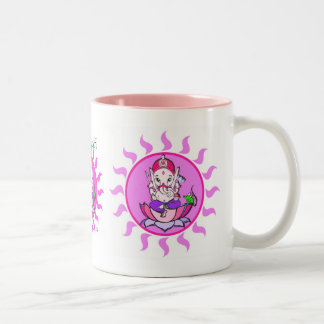 子供Ganesha ツートーンマグカップ