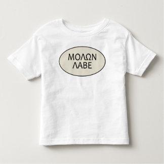子供Molon Labe トドラーTシャツ