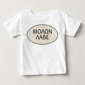 子供Molon Labe ベビーTシャツ