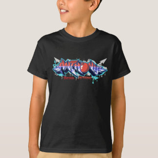 子供Streetwear: アンソニーの落書き Tシャツ