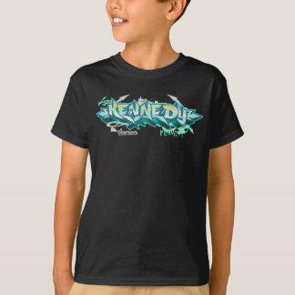 子供Streetwear: ケネディの落書き Tシャツ