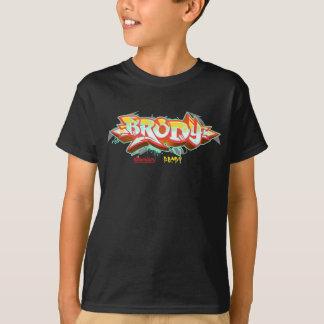 子供Streetwear: Brodyの落書き Tシャツ