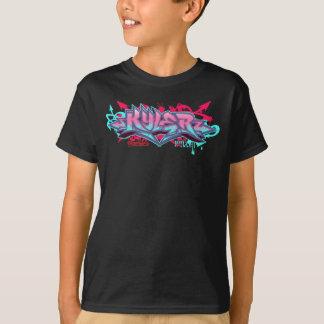 子供Streetwear: Kylerの落書き Tシャツ
