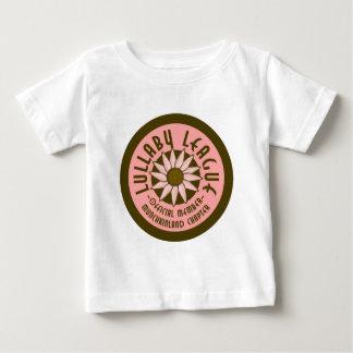 子守唄リーグ ベビーTシャツ