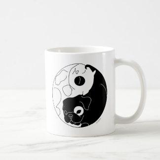 子犬および子ネコYingヤン コーヒーマグカップ
