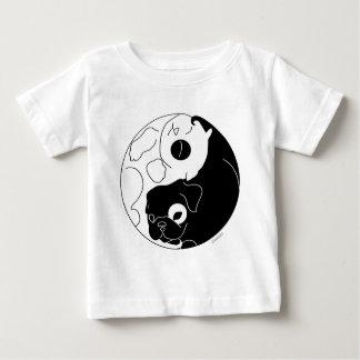 子犬および子ネコYingヤン ベビーTシャツ