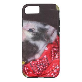 子犬のカウボーイのベビーのコブタの家畜のベビー iPhone 8/7ケース