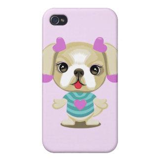 子犬のシーズー(犬)のtzu iPhone 4/4S case