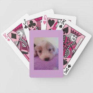 子犬のトランプ バイスクルトランプ
