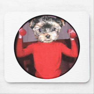 子犬のトレーニング マウスパッド