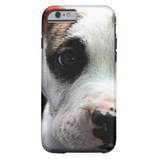 子犬のピット・ブルのT骨 iPhone 6 タフケース