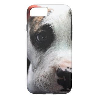 子犬のピット・ブルのT骨 iPhone 7ケース