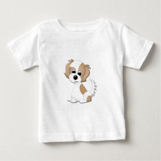 子犬のベクトルイラストレーション ベビーTシャツ