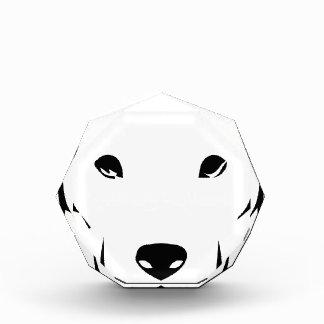 子犬のラブラドール 表彰盾