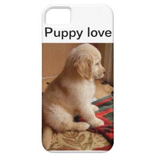 子犬の例 iPhone SE/5/5s ケース
