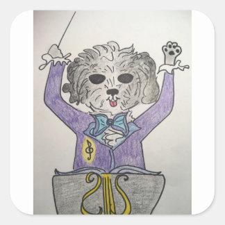 子犬の巨匠 スクエアシール
