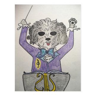子犬の巨匠 ポストカード