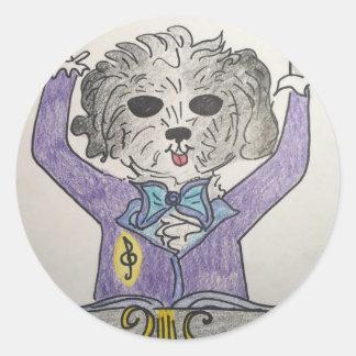 子犬の巨匠 ラウンドシール