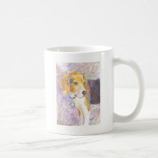 子犬の熟考 コーヒーマグカップ