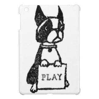子犬のIpadのよくはしゃぐな場合 iPad Miniカバー