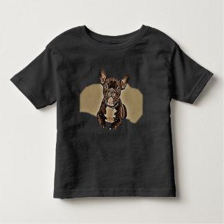 子犬のTシャツ トドラーTシャツ