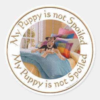 子犬はだめになりません ラウンドシール