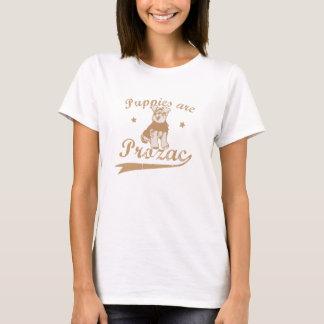 子犬はプロザックです Tシャツ