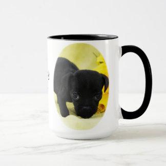 子犬はマグをlove マグカップ