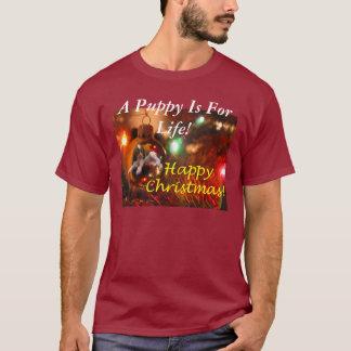 子犬は生命の間あります! Tシャツ