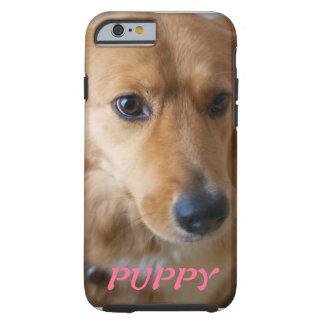 子犬ペット写真のiPhone6ケース iPhone 6 タフケース