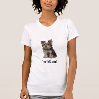 子犬ヨーク、ボディーガード Tシャツ