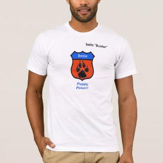 子犬力のベータT袖なし Tシャツ