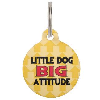子犬座の大きい態度のペット用名札 ペット ネームタグ