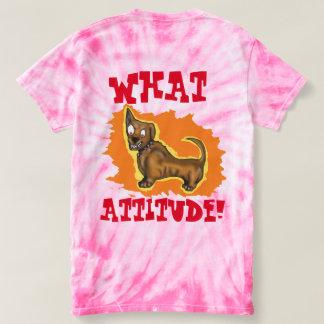 子犬座の態度 Tシャツ