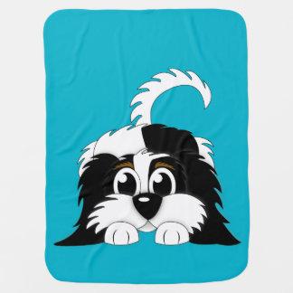 子犬毛布 ベビー ブランケット