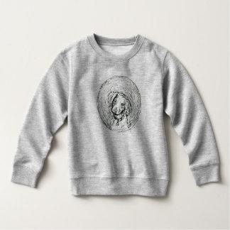 """""""子犬""""のベビーの素晴らしいジャージーのTシャツ スウェットシャツ"""