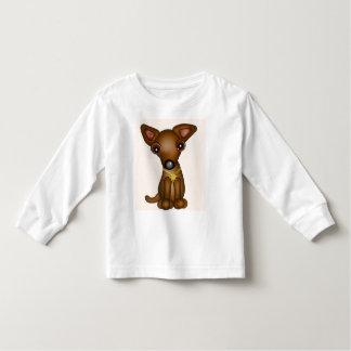 子犬 トドラーTシャツ