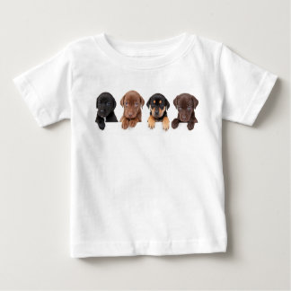 子犬 ベビーTシャツ
