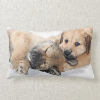 子犬 ランバークッション